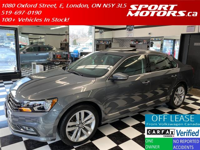 2016 Volkswagen Passat Highline+GPS+Apple Play+Blind Spot+Adaptive Cruise