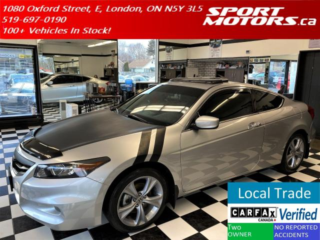 2012 Honda Accord EX-L+Heated Leather+Roof+Bluetooth+Cruise