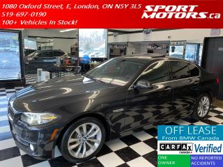 Used 2016 BMW 5 Series 528i xDrive+New Tires+Camera+Soft Close Doors+GPS for sale in London, ON