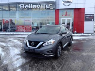 Used 2017 Nissan Murano SL 1 owner local trade,Leather, Navigation for sale in Belleville, ON
