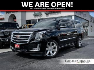 Used 2016 Cadillac Escalade ESV Premium Collection l DVD l SUNROOF l POWER BOARDS for sale in Burlington, ON