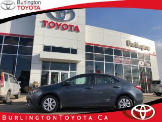 Used 2015 Toyota Corolla CE for sale in Burlington, ON