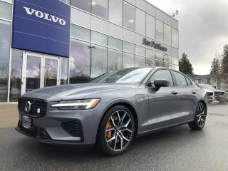 New 2020 Volvo S60 Hybrid T8 eAWD Polestar for sale in Surrey, BC