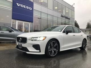 New 2020 Volvo S60 Hybrid T8 eAWD R-Design for sale in Surrey, BC