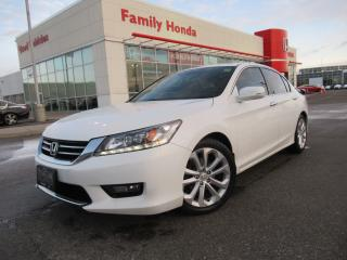 Used 2014 Honda Accord Sedan 4dr I4 CVT Touring | NAVIGATION | for sale in Brampton, ON