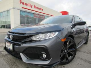 Used 2017 Honda Civic Hatchback 5dr CVT Sport | HONDA CERTIFIED | PUSH START | for sale in Brampton, ON
