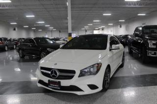 Used 2016 Mercedes-Benz CLA-Class CLA 250 I NAVIGATION I REAR CAM I LEATHER I SUNROOF I BT for sale in Mississauga, ON