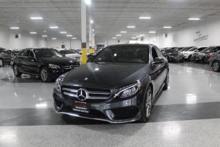 Used 2016 Mercedes-Benz C-Class C300 4MATIC AMG I NAVIGATION I REAR CAM I LEATHER I SUNROOF for sale in Mississauga, ON