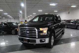 Used 2015 Ford F-150 XLT I SUPERCREW I 4X4 I NO ACCIDENTS I REAR CAM I 6PASSENGER for sale in Mississauga, ON