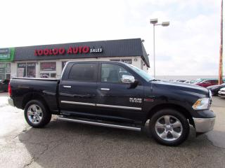 Used 2015 RAM 1500 BigHorn Crew Cab 4WD ECO DIESEL Certified Navigation Camera Diesel for sale in Milton, ON