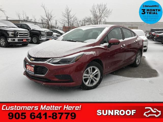 2017 Chevrolet Cruze LT  ROOF CAM HTD-STS BT ALLOYS