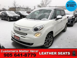 Used 2014 Fiat 500 L Lounge  BU-CAM BT HS PANO-ROOF LEATH for sale in St. Catharines, ON