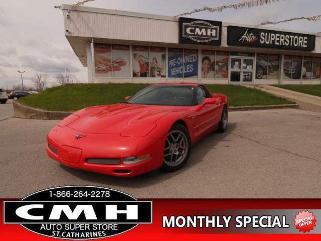 2001 Chevrolet Corvette Z06  385-HP RED/BLK-LEATH BOSE/AMP MEM HS