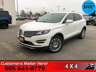 Used 2018 Lincoln MKC Reserve AWD  AWD BT HS/CS NAV PANO-ROOF for sale in St. Catharines, ON