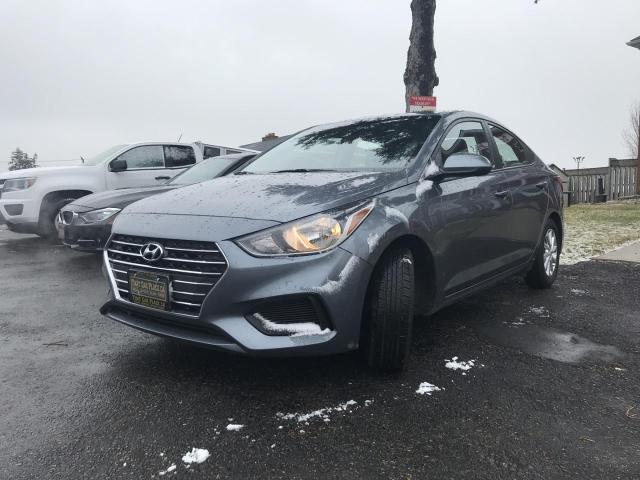 2018 Hyundai Accent SEL 4-Door 6A