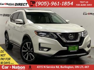 Used 2017 Nissan Rogue SL| AWD| NAVI| PANO ROOF| LEATHER| for sale in Burlington, ON