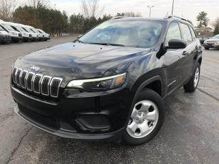 Used 2019 Jeep Cherokee SPORT 4WD for sale in Cayuga, ON