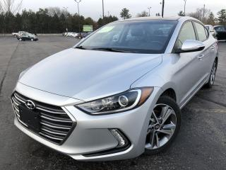 Used 2018 Hyundai ELANTRA LIMITED 2WD for sale in Cayuga, ON