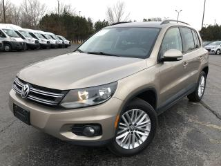 Used 2015 Volkswagen Tiguan COMFORTLINE AWD for sale in Cayuga, ON
