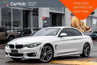 Used 2018 BMW 4 Series 440i xDrive|CONVERTIBLE|Harman/Kardon_Sound|Nav|Keyless_Go| for sale in Thornhill, ON