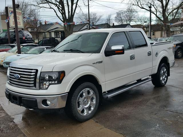 2011 Ford F-150 Lariat 4x4 6.2Ltr V8 Factory HD Lights Heated Leather