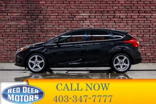 Used 2013 Ford Focus Titanium Hatchback Leather Roof Nav for sale in Red Deer, AB
