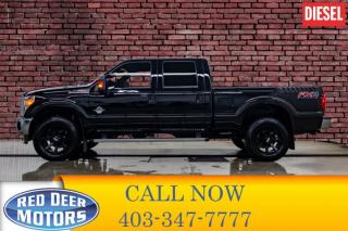 Used 2016 Ford F-350 4x4 Crew Cab Lariat FX4 Diesel Leather Roof Nav for sale in Red Deer, AB