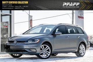 Used 2018 Volkswagen Golf Sportwagen 1.8T Highline 6sp 4MOTION for sale in Orangeville, ON