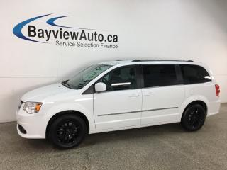 Used 2017 Dodge Grand Caravan Crew - 3 ZONE CLIMATE! STOW 'N GO! FULL PWR GROUP + MORE! for sale in Belleville, ON