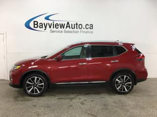 Used 2017 Nissan Rogue SL Platinum - AWD! HTD LEATHER! PANOROOF! NAV! NISSAN DIRECT! for sale in Belleville, ON