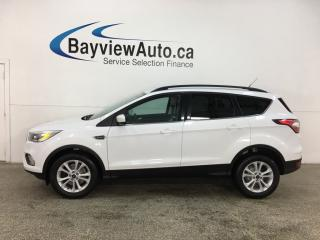 Used 2017 Ford Escape - BIG SCREEN! HTD SEATS! ALLOYS! FULL PWR GROUP! for sale in Belleville, ON