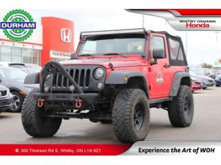 Used 2017 Jeep Wrangler 4WD 2dr Big Bear -Ltd Avail- for sale in Whitby, ON