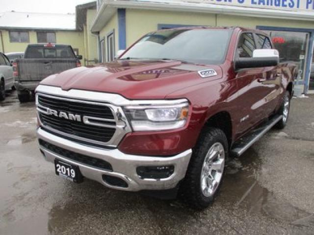 2019 Dodge Ram 1500 LIKE NEW BIG-HORN EDITION 5 PASSENGER 5.7L - HEMI.. 4X4.. CREW.. SHORTY.. NAVIGATION.. BACK-UP CAMERA.. BLUETOOTH SYSTEM.. HEATED SEATS..