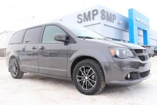 Used 2018 Dodge Grand Caravan GT- Leather, Remote Start, Power Sliding Door, Pwr Lft Gate for sale in Saskatoon, SK
