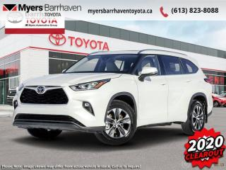 New 2020 Toyota Highlander XLE  - Power Moonroof -  Power Liftgate - $309 B/W for sale in Ottawa, ON
