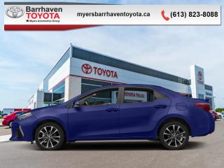 Used 2017 Toyota Corolla SE  - Leather Seats -  Heated Seats - $108 B/W for sale in Ottawa, ON