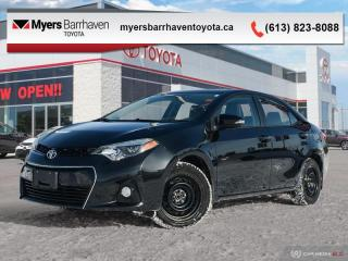 Used 2015 Toyota Corolla S  -  Heated Seats -  Bluetooth - $100 B/W for sale in Ottawa, ON
