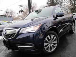 Used 2016 Acura MDX SH-AWD|NAVIGATION PKG|ONE OWNER|83,000KMS !! for sale in Burlington, ON