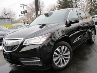 Used 2016 Acura MDX SH-AWD NAVIGATION PKG ONE OWNER 50KMS ONLY !!! for sale in Burlington, ON