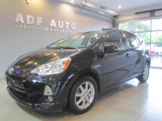 Used 2014 Toyota Prius c CUIR CAMÉRA DE RECUL for sale in Longueuil, QC