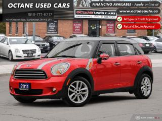 Used 2011 MINI Cooper Countryman Accident-Free! for sale in Scarborough, ON