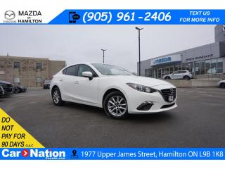 Used 2016 Mazda MAZDA3 GS | SUNROOF | REARCAM | HEATED SEATS | ALLOYS for sale in Hamilton, ON