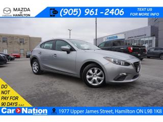 Used 2016 Mazda MAZDA3 GX | TOUCHSCREEN | REAR CAM | BLUETOOTH for sale in Hamilton, ON