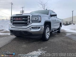 Used 2016 GMC Sierra 1500 SLT - Navigation -  Intellilink - $252 B/W for sale in Bolton, ON