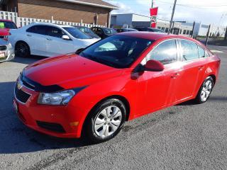 Used 2014 Chevrolet Cruze 1LT, AUTO, BACKUP CAMERA, REMOTE STARTER, 119 KM for sale in Ottawa, ON