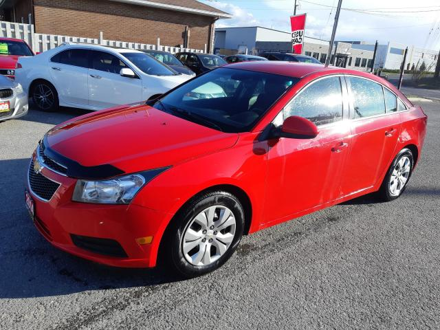 2014 Chevrolet Cruze 1LT, AUTO, BACKUP CAMERA, REMOTE STARTER, 119 KM