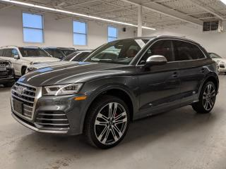 Used 2018 Audi SQ5 SQ5 TECHNIK/BANG&OULFSEN/CARBON FIBER TRIM/BLIND SPOT! for sale in Toronto, ON