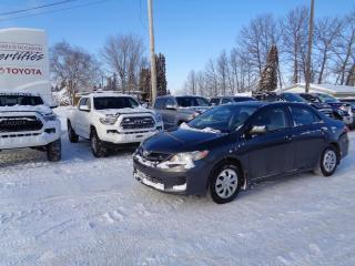 Used 2011 Toyota Corolla Berline 4 portes, boîte manuelle, CE for sale in St-Félicien, QC