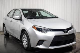 Used 2016 Toyota Corolla L A/C GROUPE ELECTRIQUE for sale in St-Hubert, QC