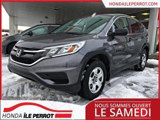 Used 2016 Honda CR-V LX PRIX COMPÉTITIF , SEULEMENT 1 PROPRIÉTAIRE, A VOIR ! for sale in Île-Perrot, QC